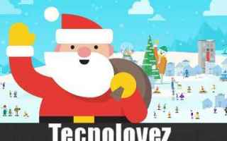 Google: santa tracker babbo natale google