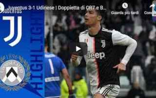 Serie A: juventus udinese video calcio gol