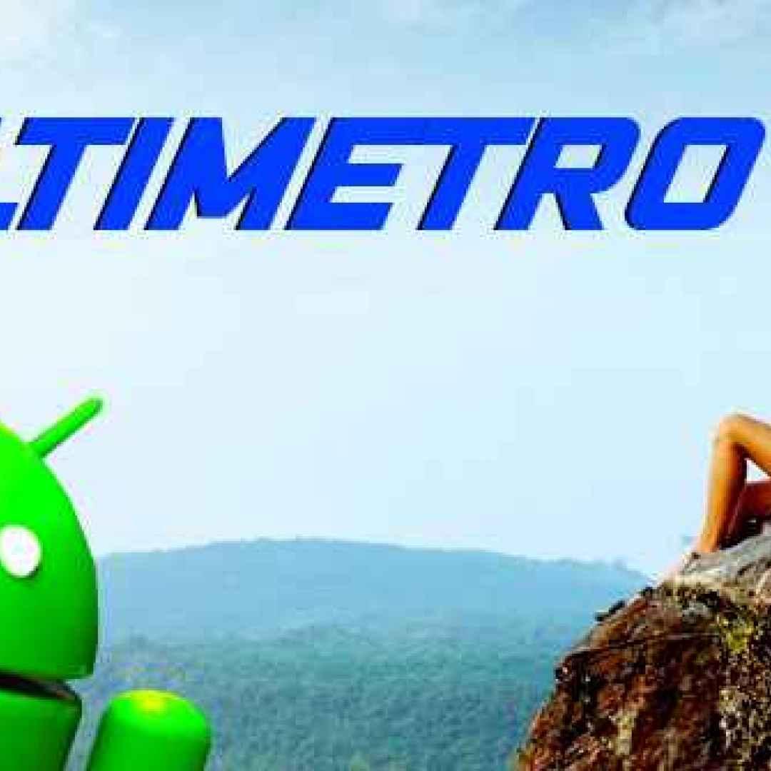 altimetro android sci sport montagna