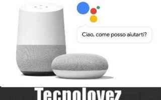 Google: assistente google google home comandi