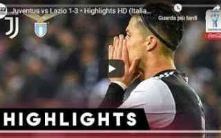 juventus lazio video gol calcio
