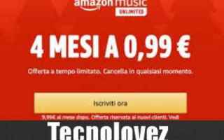 amazon music unlimited offerta amazon