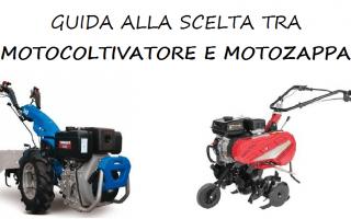 Giardinaggio: motocoltivatore  motozappa  campagna