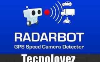 App: radarbot app