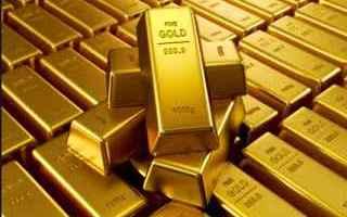 Borsa e Finanza: oro  trailing step  figure continuazione