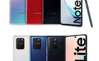 Cellulari: galaxy note 10 lite  galaxy s10 lite