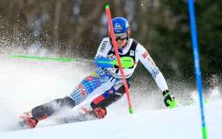 Sport Invernali: SCI ALPINO: VLHOVA VINCE IL DUELLO CON LA SHIFFRIN A ZAGABRIA
