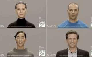 Software: CES 2020. Samsung presenta Neon, il primo essere umano artificiale