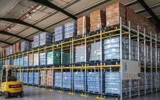 Economia: logistica  magazzino  scaffalature
