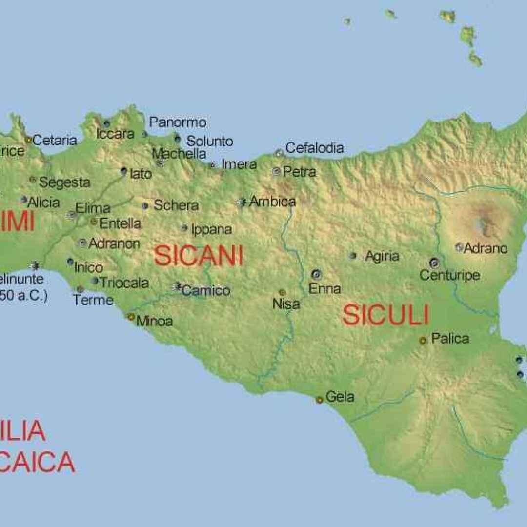 origini  sicani  sicilia  siculi  elimi
