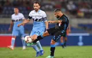 Serie A: lazio  napoli  formazioni ufficiali