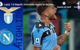 Serie A: lazio napoli video gol calcio