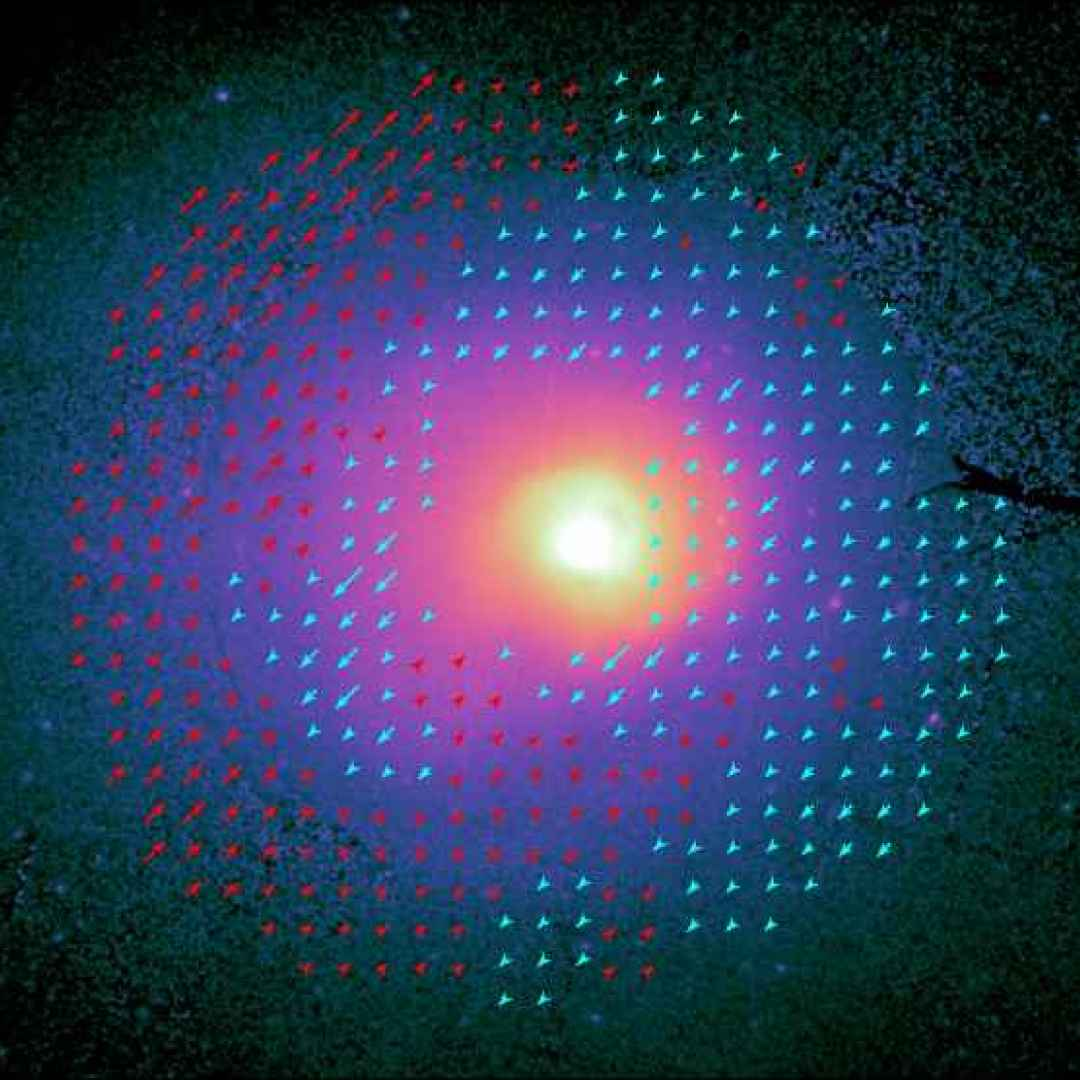 esa  galassie  plasma
