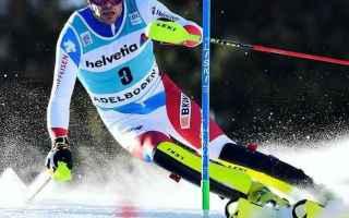 Gara della consacrazione di Daniel Yule che vince dopo Campiglio anche lo slalom di Adelboden, riusc