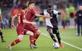 Serie A: roma  juventus  formazioni ufficiali