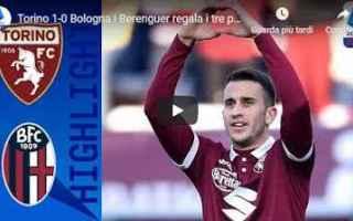 Serie A: torino bologna video gol calcio