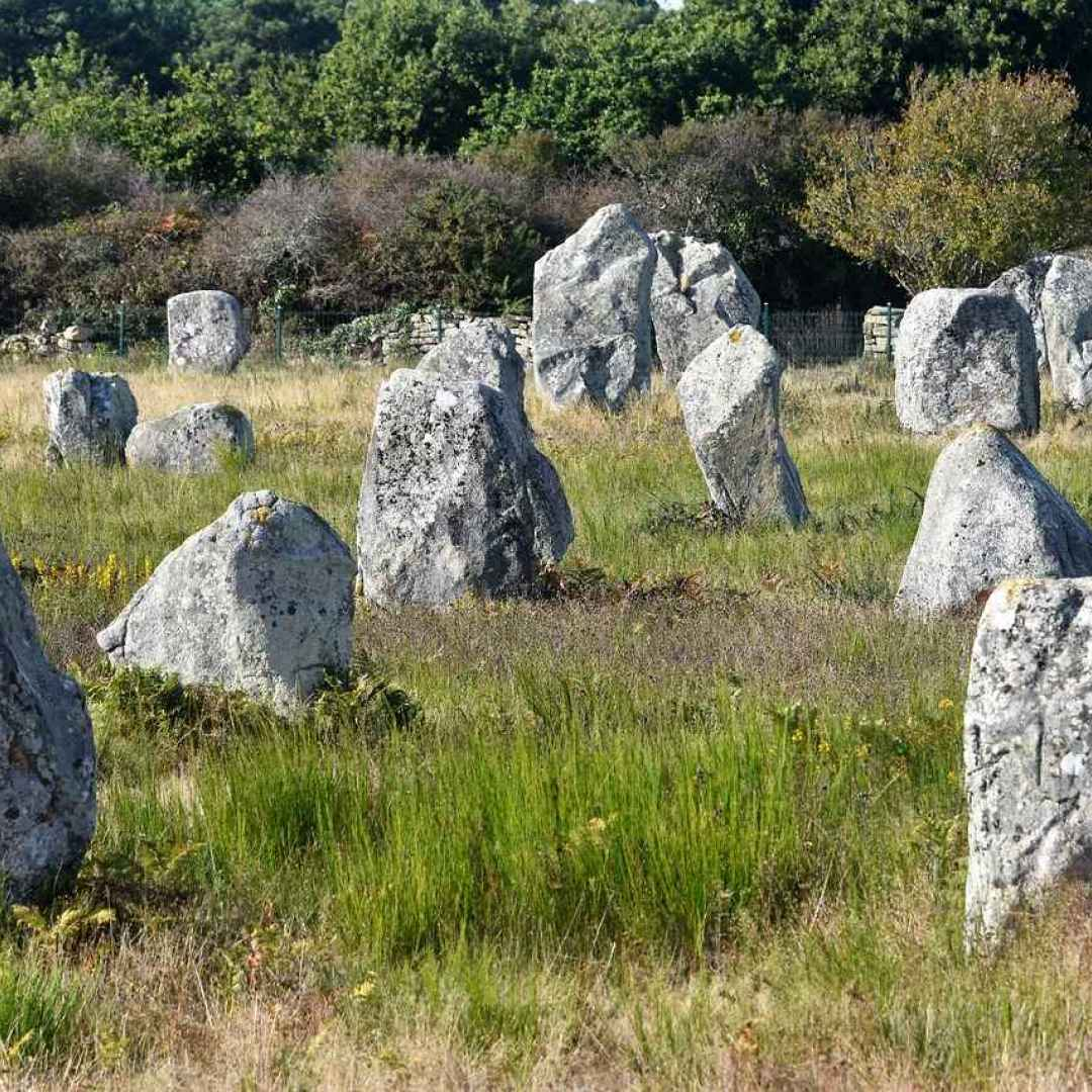 allineamenti megalitici  carnac  dolmen
