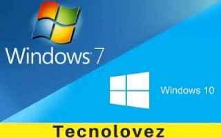 aggiornare gratis windows 7 windows 10
