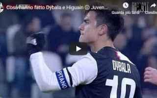 Coppa Italia: juventus calcio video higuain dybala