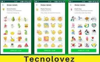 whatsapp adesivi animati whatsapp