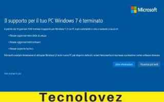 Computer: windows eliminare notifica windows 7