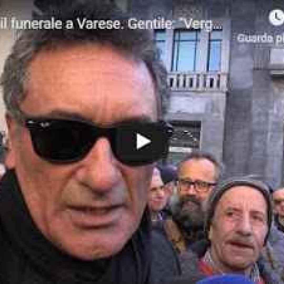 anastasi funerale varese video juventus