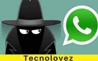 WhatsApp: whatsapp non farsi vedere contatti