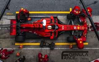 ferrari  f1  f1test  test f1  formula 1