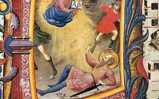 Religione: damasco  folgorato  pittura  san paolo
