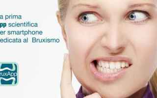 bruxismo android iphone salute denti