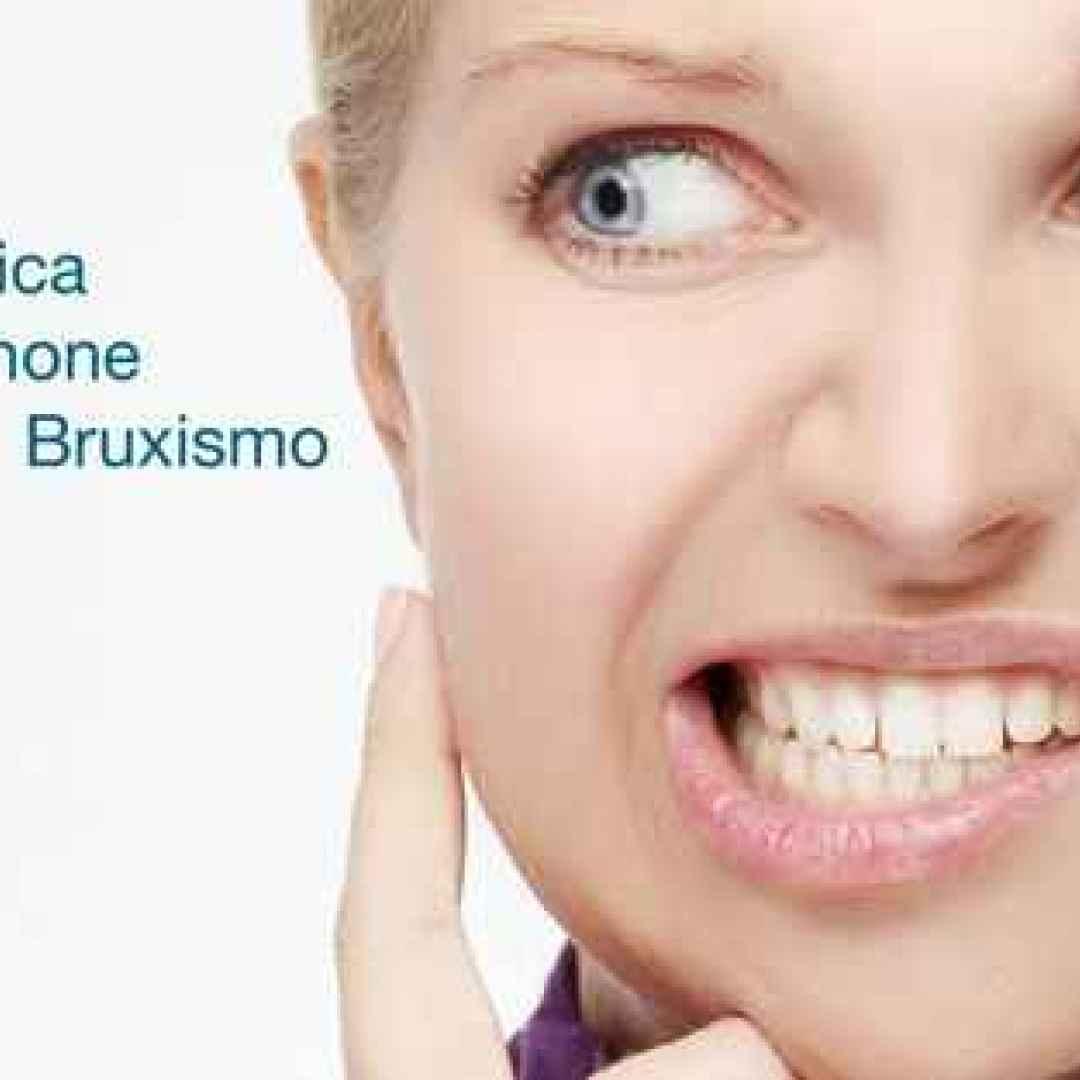 bruxismo android iphone salute denti