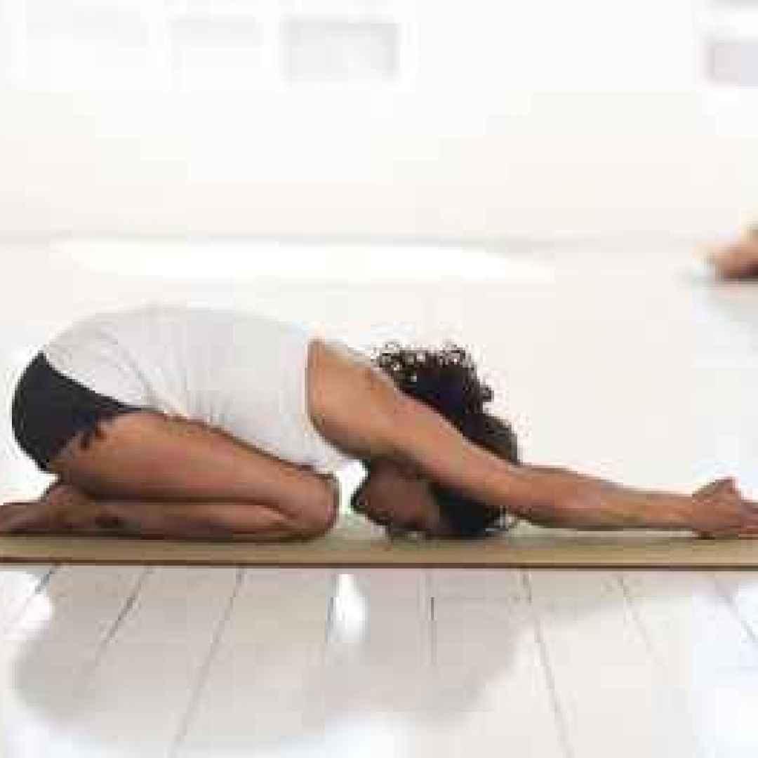benessere  yoga  bambini