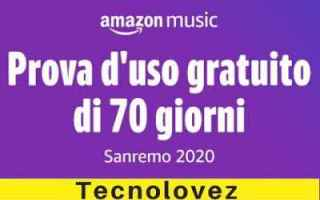 amazon music unlimited gratis offerta