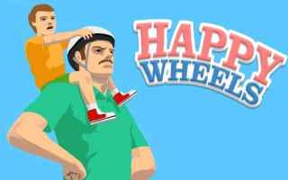happy wheels  android videogioco arcade
