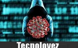 Sicurezza: coronavirus coronavirus malware virus