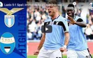 Serie A: lazio spal video gol calcio