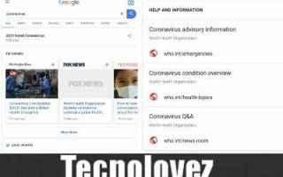 Google: google epidemia sos alert coronavirus