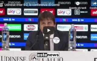 Serie A: inter conferenza video conte calcio