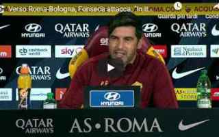 Serie A: roma conferenza fonseca calcio video