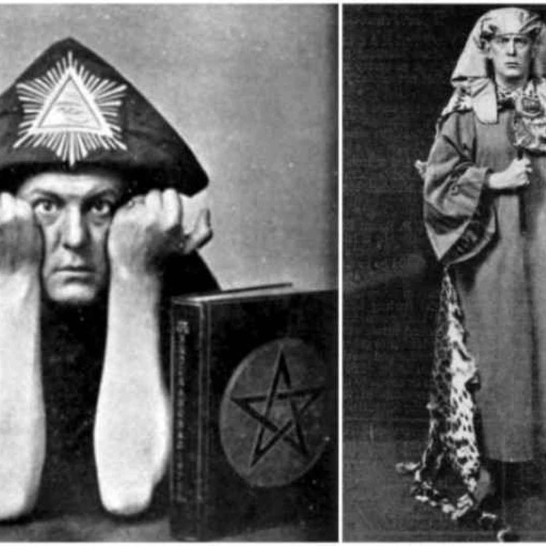 aleister crowley  magia  thelema