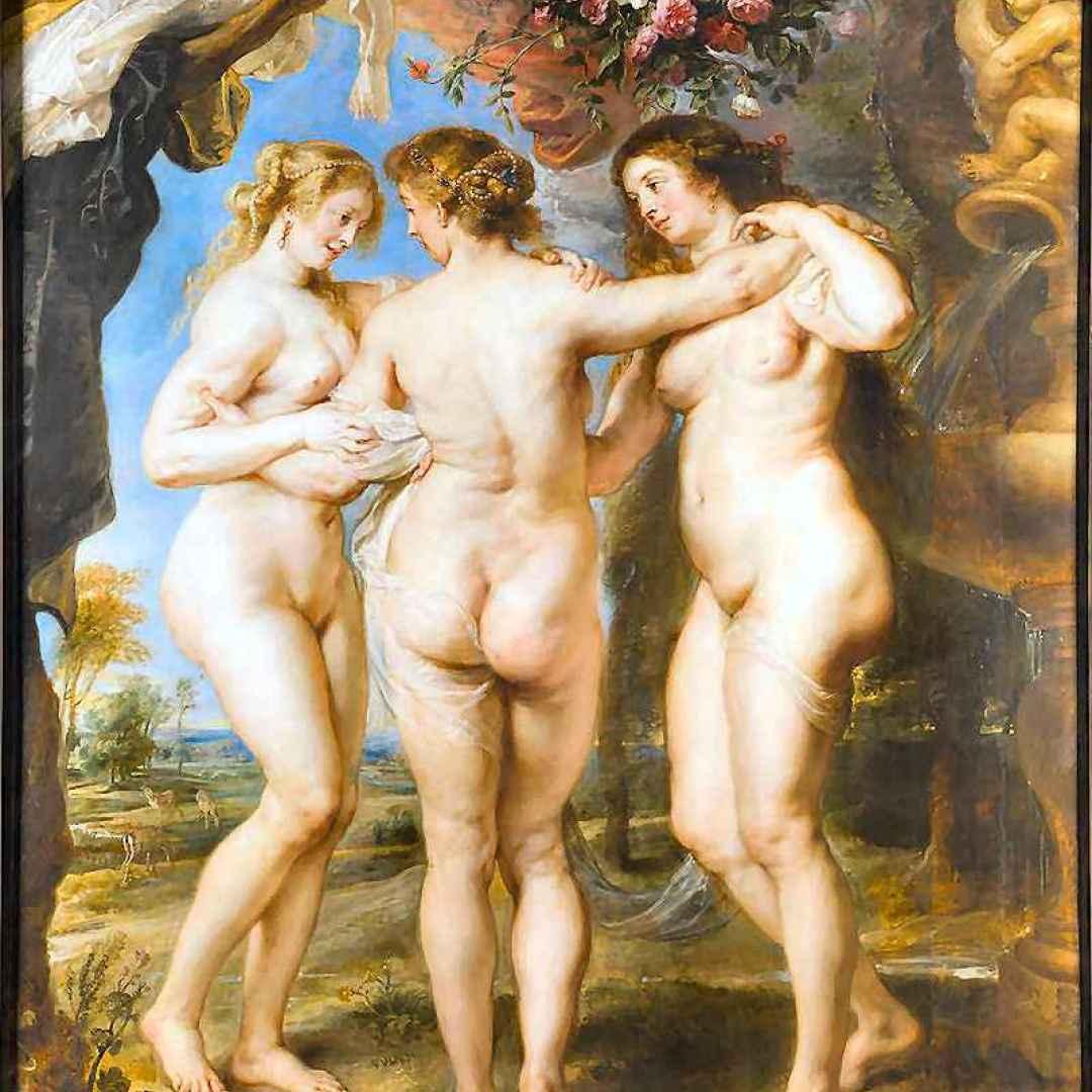 grazie  mitologia  arte  cariti