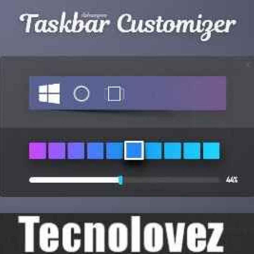 ashampoo taskbar customizer 1.0 windows