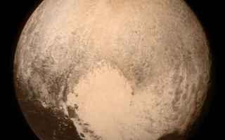 Astronomia: new horizons  nasa  plutone