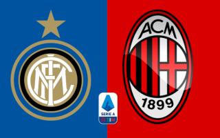 Serie A: inter-milan  formazioni ufficiali