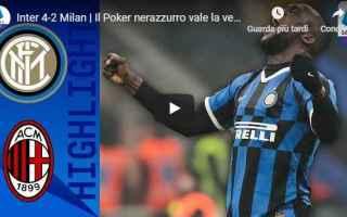Serie A: inter milan video gol calcio