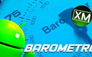 Android: barometro sensore android apps meteo app