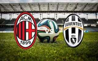 Coppa Italia: milan  juventus