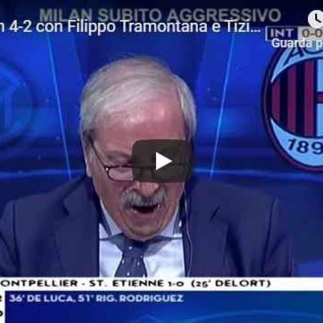 inter milan video tiziano crudeli calcio