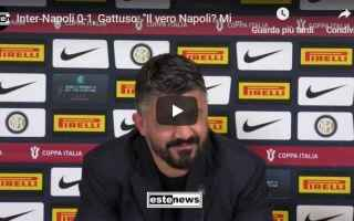 Coppa Italia: inter napoli gattuso video milano