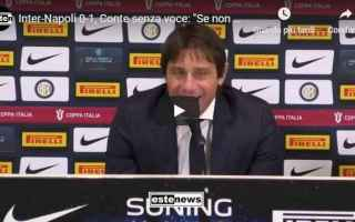Coppa Italia: inter napoli conte video cal